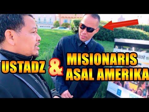 USTADZ BERTEMU MISIONARIS AMERIKA, (Tausiah oleh Ust DR, Ali Ahmadi Lc MA Al Hafidz)
