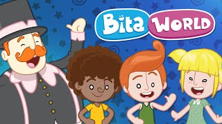 Bita World is made of music, colours, learning and joy. Everything is done with a lot of care so that little ones and their parents may play and grow together.Come and live the joyful adventures in Bita World! This world is also yours!www.mundobita.com.br