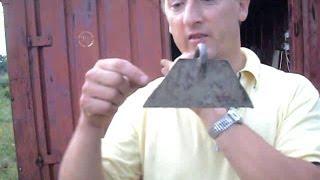 Правильная заточка и изгиб тяпки (мотыги)