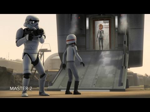 [Princess Leia meets Kanan and Ezra] Star Wars Rebels Season 2 Episode 13 [HD]
