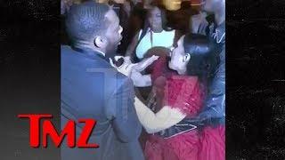 Cardi B Gets Lump on Head, Attacks Nicki Minaj, Throws Shoe, 'Calls Her P***y | TMZ