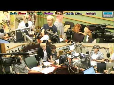 120720 Sukira   Kiss Thie Radio   KTR with Super Junior Part 6/8 [rus.sub]