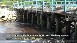 Dumai Indonesia  City new picture : Pantai Marina Indah Puak, Kecamatan Medang Kampai Kota Dumai, Riau, Indonesia