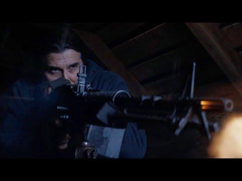 Hold the Dark (2018)   Police vs Terrorist   Shootout Scene   Part One   1080p