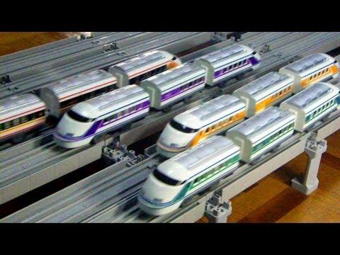 プラレール東武伊勢崎線1 Plarail Tobu Isesaki Line Trains 1
