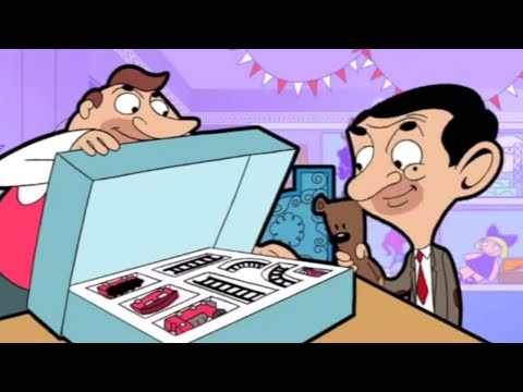 Toy Store - Mr. Bean takes Teddy to a toy store for his birthday - he wreaks havoc on the place! Stay tuned, click here: http://bit.ly/SubscribeToMrBean Welcome to the O...