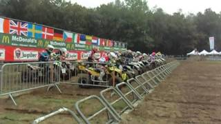 Markelo, EMX Nations Quads, Race 2, start
