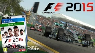 More F1 2015 Game News Released!