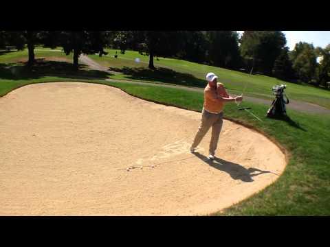 Green Side Sand Golf Drill