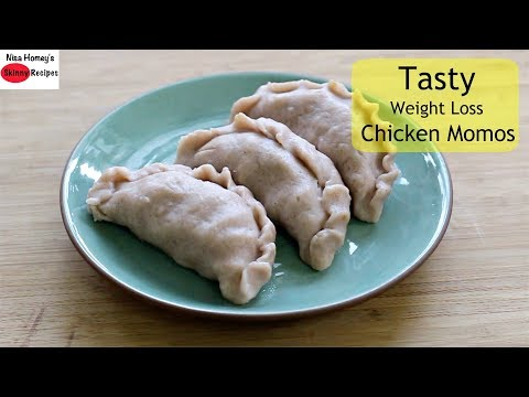 Weight loss pills - The BEST Chicken Momos For Weight Loss -Tasty, Healthy, Low Calorie/Almost Oil Free - Skinny Recipes