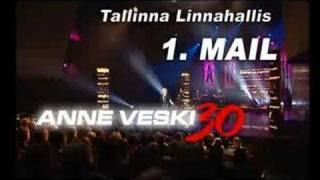 Anne Veski kontsert Linnahallis