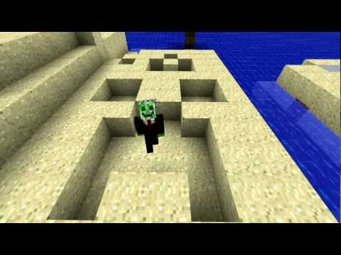 Minecraft survival map-Plane Crash Island