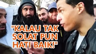 Video Pemuda Muslim Berantai Salib Mendebat Syeikh! MP3, 3GP, MP4, WEBM, AVI, FLV Maret 2019