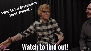 Ed Sheeran talked with Steve Serrano just before he took the stage in KC! Special Thanks: Ed Sheeran Mix93.3 Better KC...