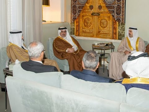 HRH Crown Prince meeting with RERA Chairman and Board of Directors
