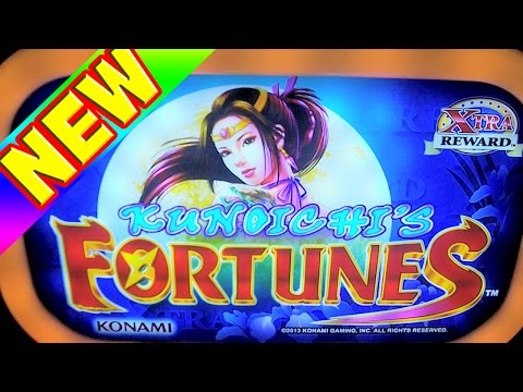 Kunoichi's Fortunes NEW SLOT MACHINE Las Vegas Slots Win