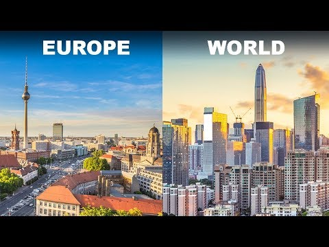 This Is Why Skyscrapers Are So Rare in European Cities