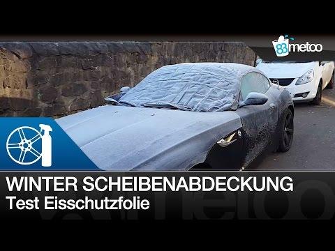 Scheibenabdeckung Winter Test | Beste Scheibenabdeckung im Test | Auto Scheibenabdeckung Winter