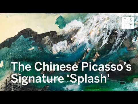 A Monumental Masterpiece by Zhang Daqian that Captures the Glory of a Chinese Warlord