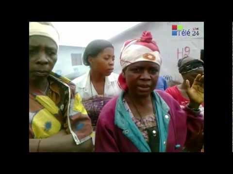 TÉLÉ 24 LIVE: La vie des femmes déplacés vivant dans le camp de Mugunga se détériore de jour en jour.