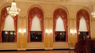 Motorized Blackout Shades: NYC Academic Club Ball Room