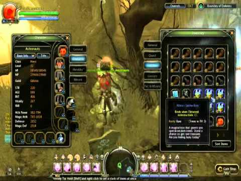 Dragon Nest 100 Altea's Box Opening Boundary of Darkness