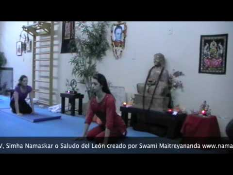 Simha Namaskar – Saludo del León, Purna Yoga Integral