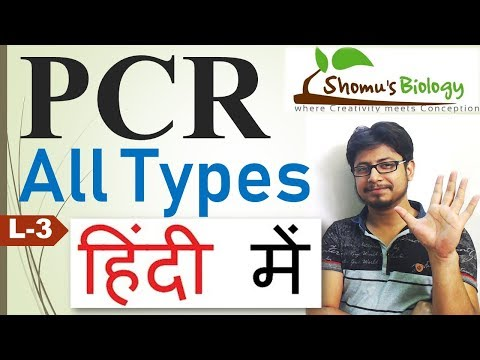 PCR Types In Hindi |colony PCR, Nested PCR, Inverse PCR, Real-time PCR, Rt PCR