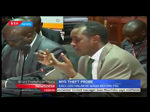 EACC CEO Halakhe Waqo grilled by public accounts committee