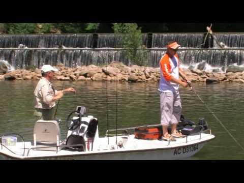 Pêche sur la rivière Lot