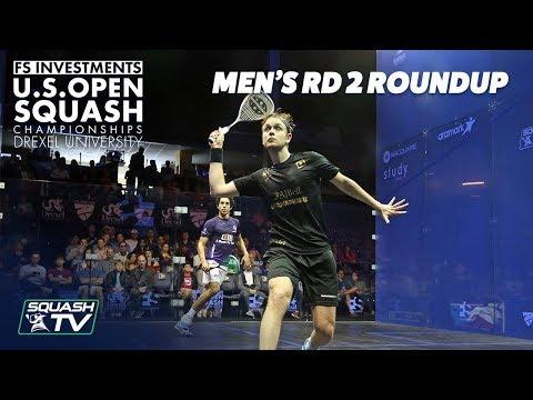 Squash: Men's Rd 2 Roundup - US Open 2018