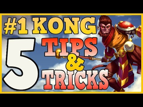#1 WUKONG SHARES 5 TIPS & TRICKS FOR REWORKED WUKONG | League of Legends Wukong Guide