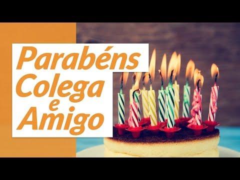 Parabéns, colega e amigo! (Mensagem de Aniversário para Amigo de Trabalho)