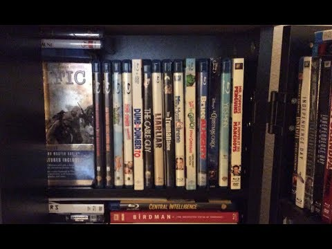 My Jim Carrey BLU RAY COLLECTION And Rant
