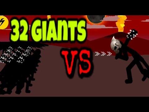 32 Giants VS Final Boss/ Insane Mode/ Last Stand Level/ Stick War Legacy