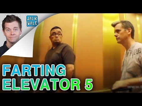 Jack Vale Farting In An Elevator