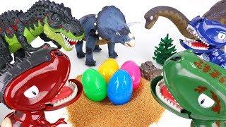Video 3 Dinosaur Egg Stealers~! Hatch'N Heroes Transforming Dinosaur Figures MP3, 3GP, MP4, WEBM, AVI, FLV Juni 2019
