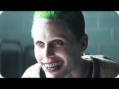 SUICIDE SQUAD Joker & Harley Quinn Trailer (2016) Jared Leto, Margot Robbie Movie