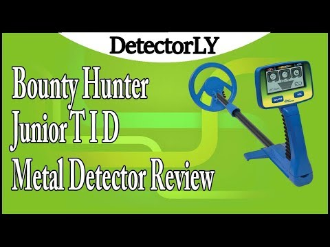 Bounty Hunter Junior T I D  Metal Detector Review