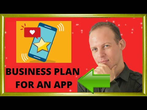 Business Plan For Startup Or Mobile App