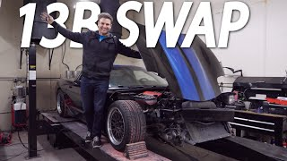 LS SWAPS SUCK!!! ROTARY CORVETTE INCOMING by Rob Dahm