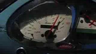 9. 50mph on a Kymco People 50 Scooter