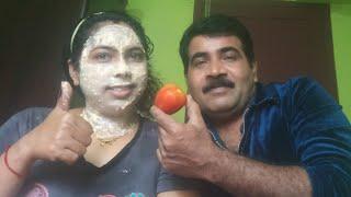 Video ഫേഷ്യൽ വീട്ടിൽ ചെയ്യാം തികച്ചും നാച്ചുറൽ/ skin whitening tomato facial get fair glowing Spotless ski MP3, 3GP, MP4, WEBM, AVI, FLV Januari 2019