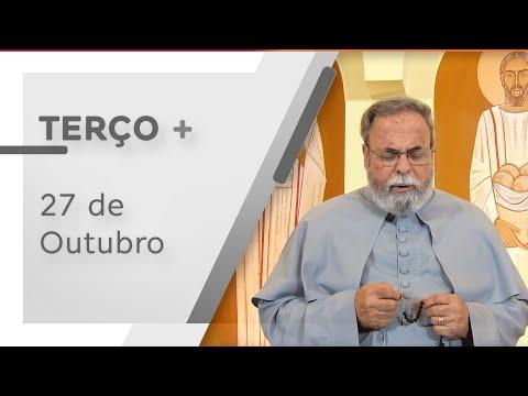 Terço de Aparecida com Pe. Antonio Maria – 27 de Outubro de 2020
