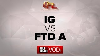 IG vs FTD, game 1