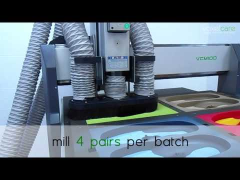 Voxelcare VCM100 Orthotic Insole Milling Machine (4-Pairs)