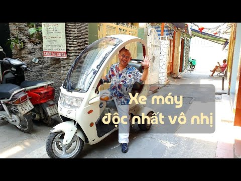 Chuyện lạ #13: Chiếc xe máy có mái che độc đáo số 1 Vietnam - Thời lượng: 11 phút.