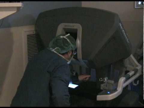 Robotic surgery training.wmv