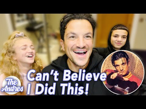 PETER ANDRE: MY KIDS REACT TO MY MUSIC CAREER! (FUNNY)