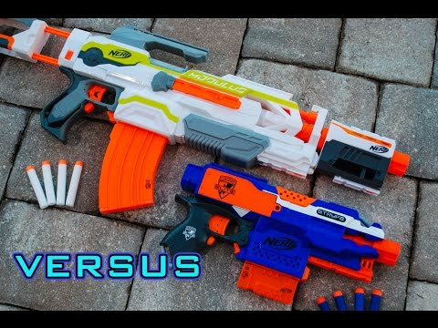 [VS] Nerf Stryfe vs. Nerf Modulus | Which is Better?!